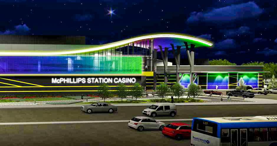 McPhillips Station Casino Exterior
