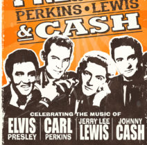 Celebrating The Music Of Presley Perkins Lewis Cash poster picture
