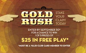 Gold Rush contest graphic