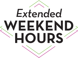 Extended Hours on Weekends