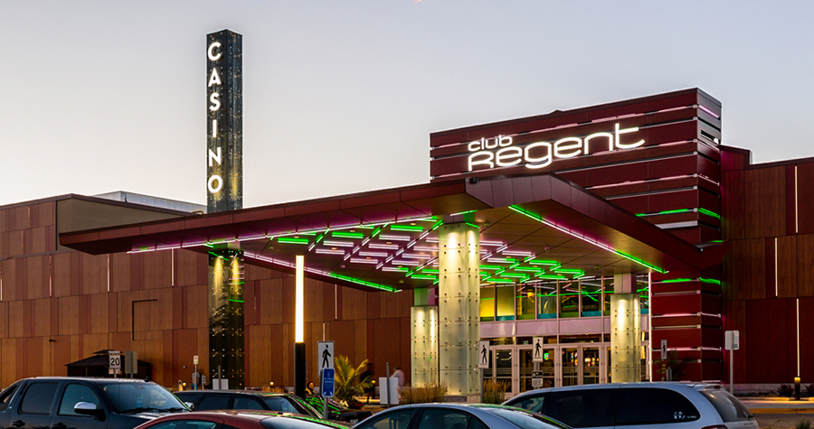 Club Regent Casino Main Entrance